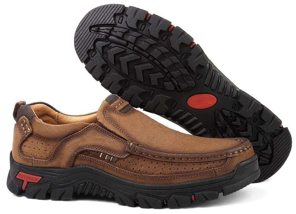 TAIGEL Mens Slip On Loafers