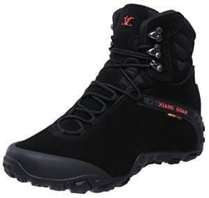 XIANG GUAN Men's Outdoor High-Top Waterproof Hiking Boots