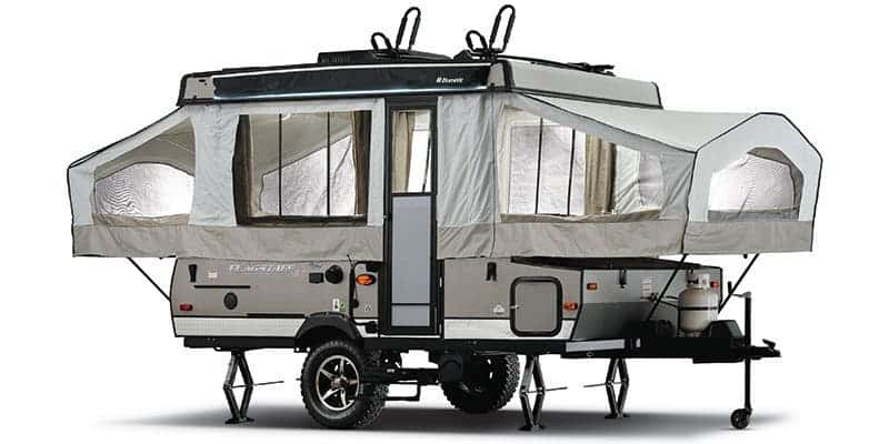 15 Fantastic Small Campers, Travel Trailers & RVs with Bathrooms & Showers 10