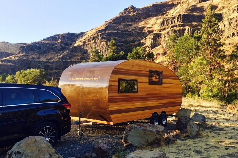 15 Fantastic Small Campers, Travel Trailers & RVs with Bathrooms & Showers 9