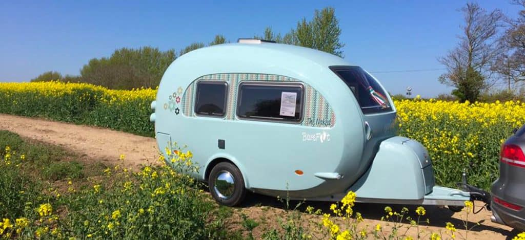 15 Fantastic Small Campers, Travel Trailers & RVs with Bathrooms & Showers 3