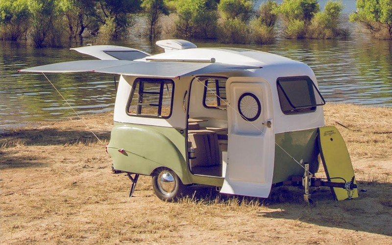 15 Fantastic Small Campers, Travel Trailers & RVs with Bathrooms & Showers 11