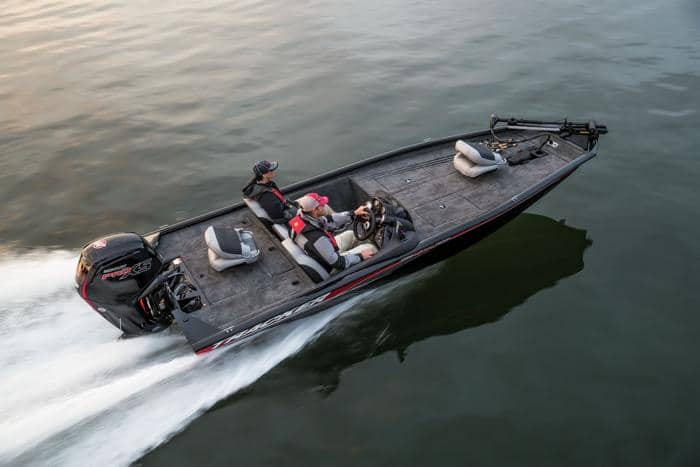 bass boat weight