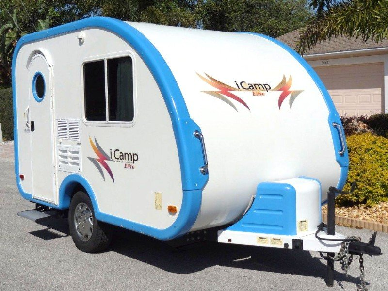 15 Fantastic Small Campers, Travel Trailers & RVs with Bathrooms & Showers 5