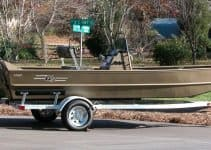 boat trailer steps