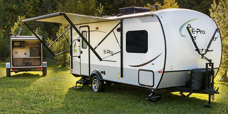 The 20 Smallest RVs With Shower and Toilet 4