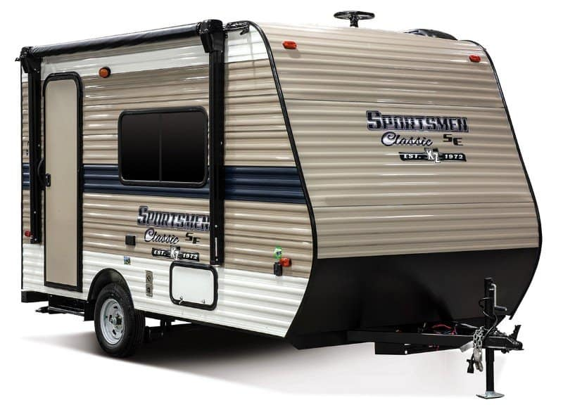 The 20 Smallest RVs With Shower and Toilet 12
