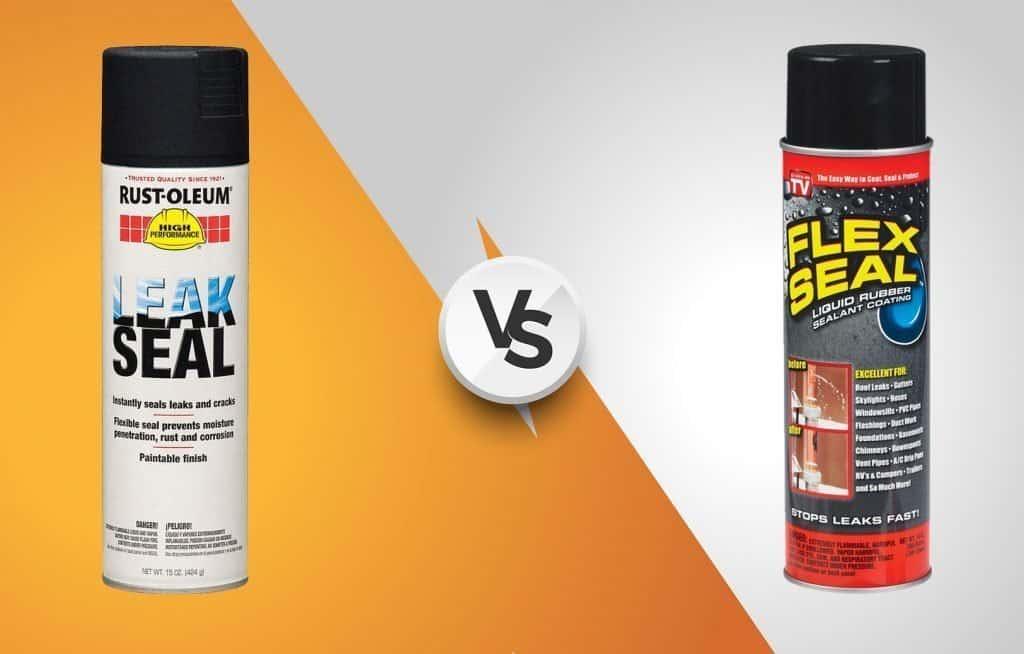 Rust-Oleum Leak Seal vs Flex Seal