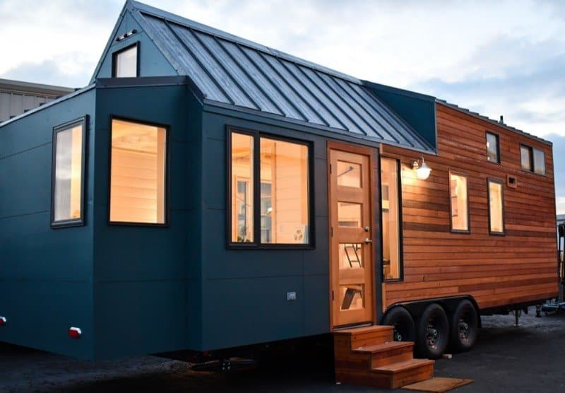 Payette Urban 28 Tiny House on Wheels by Tru Form Tiny 001