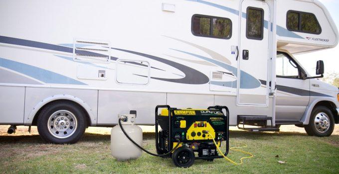 RV Propane Generator