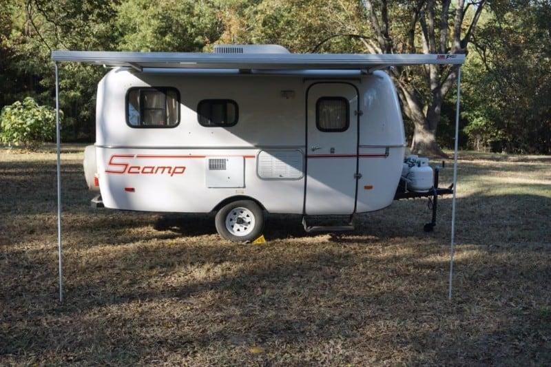 Scamp 13 Feet Deluxe Camper