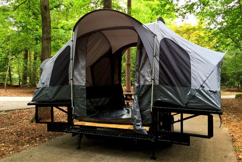 Double Duty Utility Camper