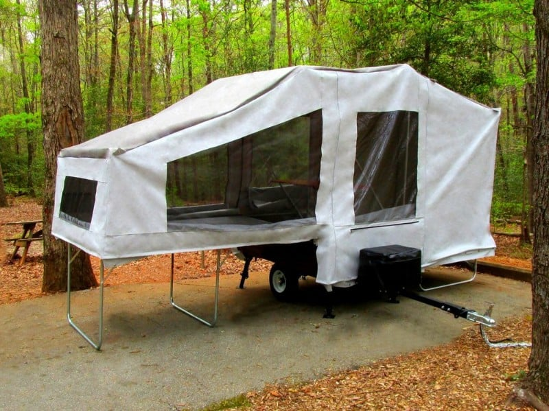 Solace Deluxe Motorcycle Camping Trailer