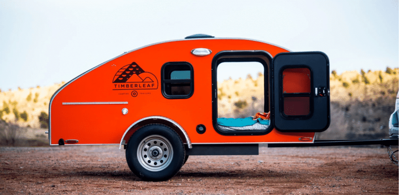 Timberleaf Classic Teardrop Travel Trailer