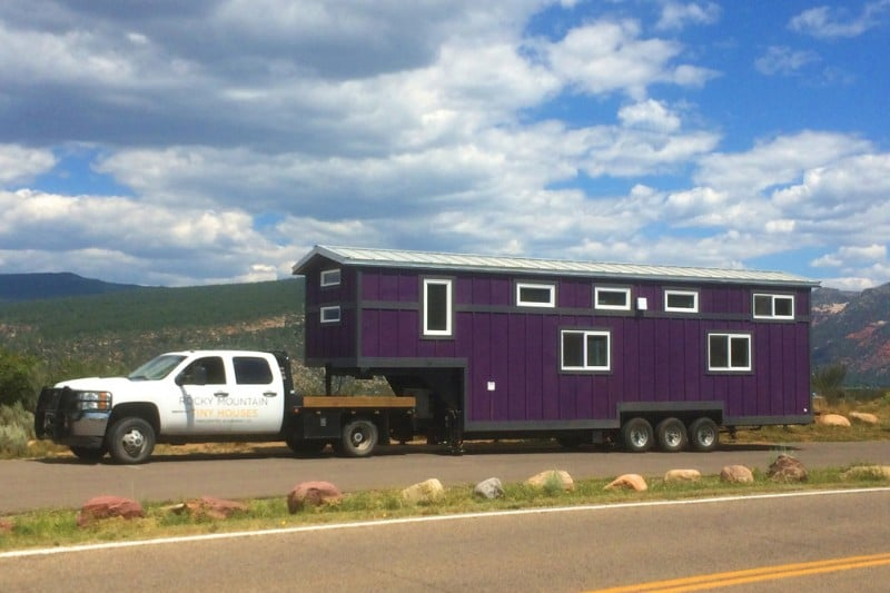Custom Gooseneck - Rocky Mountain Tiny Houses
