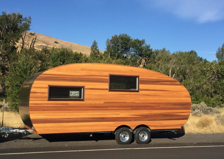 Homegrown Trailers Timberline Travel Trailer