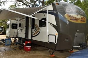 Homemade RV Awning Cleaners