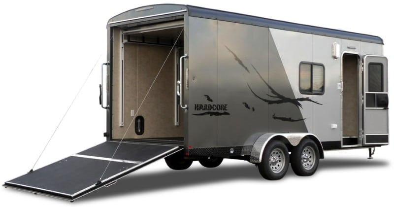 7 Exceptional Small Toy Hauler Travel Trailers Crow Survival