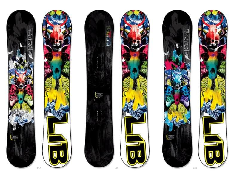 Lib tech snowboards