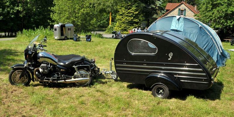 Motorcycle Tear Drop Campers