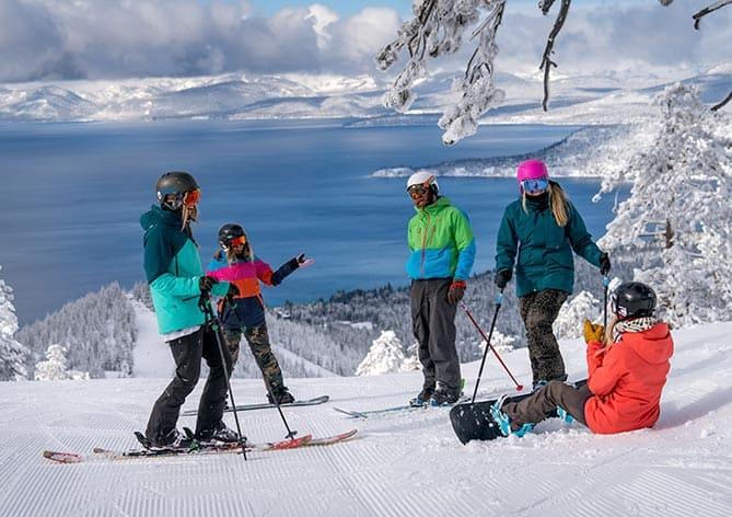 The Diamond Peak Ski Resort