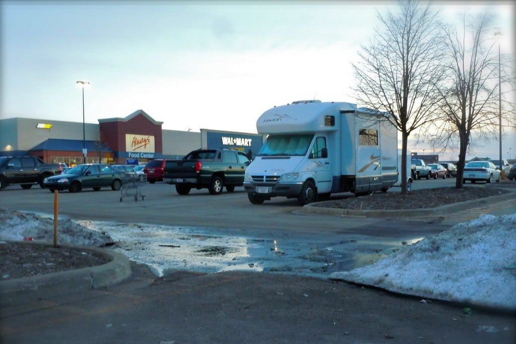 walmart overnight rv parking