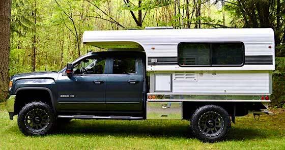 Alaskan 8.5 Truck Camper Rig