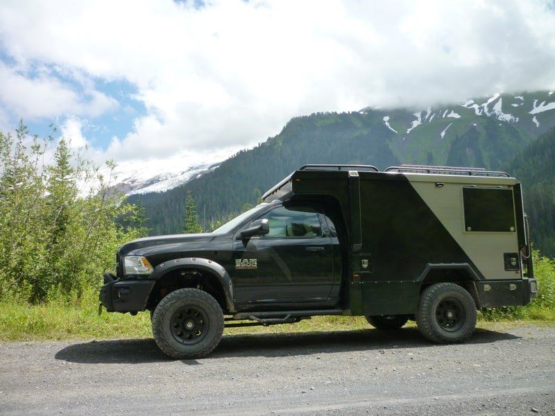 "The Kodiak ""Trailhead"" Pop-Up Truck camper"