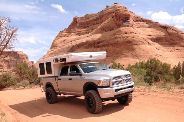 Hallmark Milner camper truck