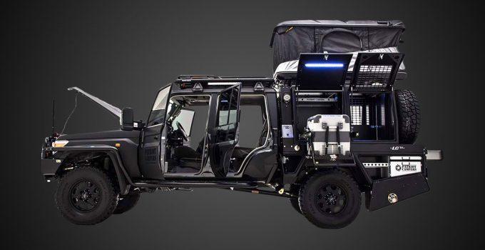 Patriot campers LC79 super tourer utility vehicle
