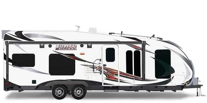 Lance Camper Lance THE 2612 Toy Hauler