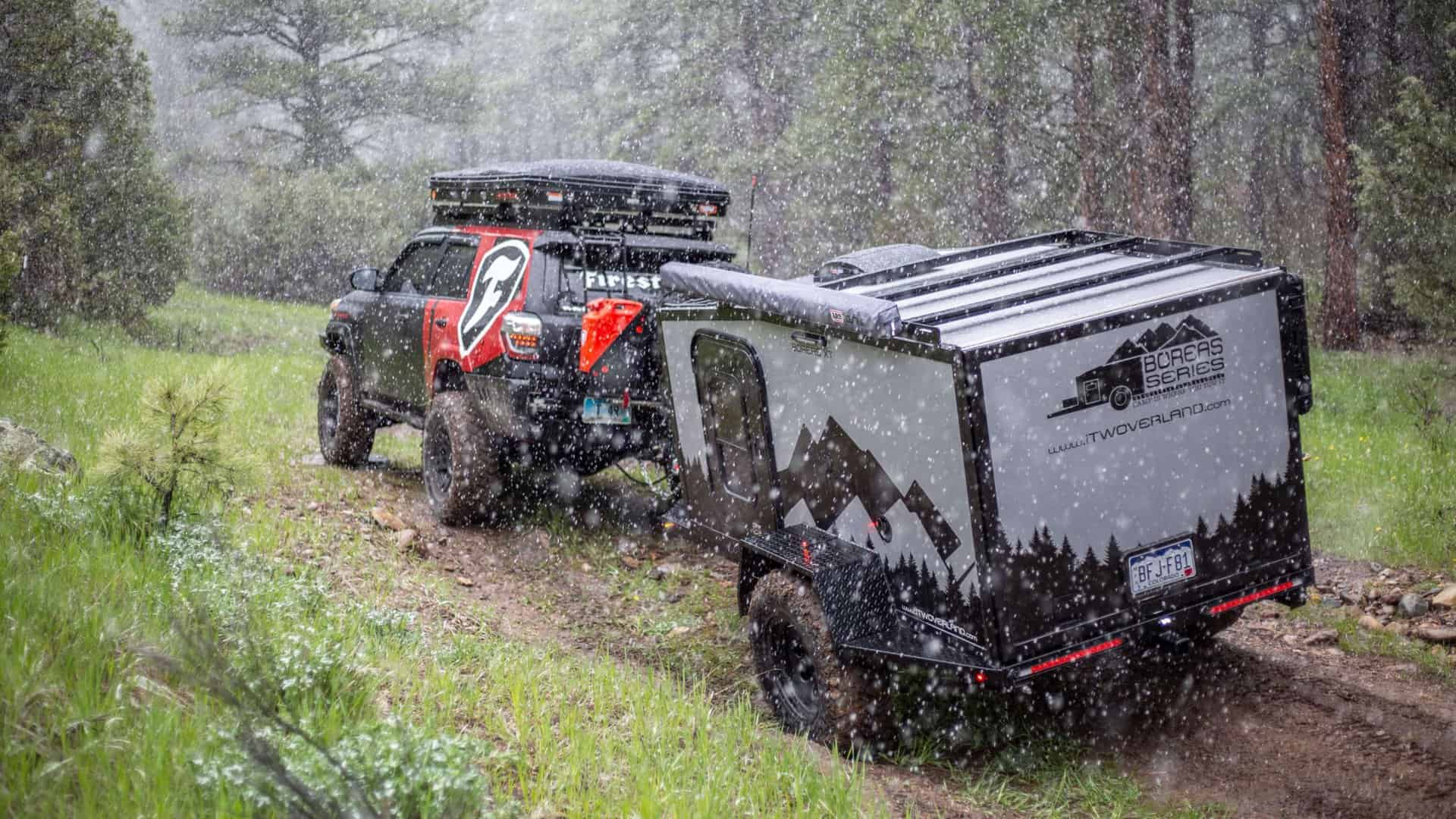 Boreas XT Off-Road Camper by Into the Wild Overland