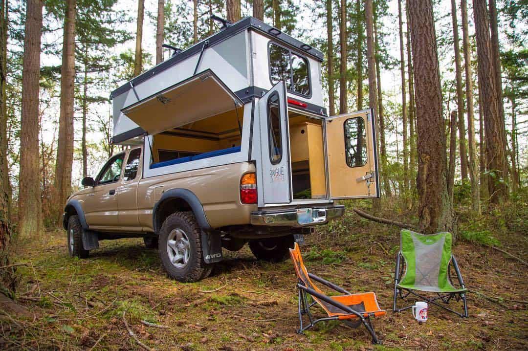 Can A Truck Camper Fit In A Garage