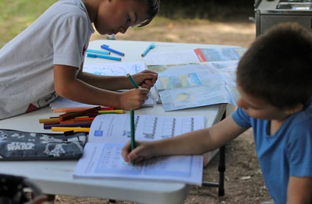 On-Road Homeschooling