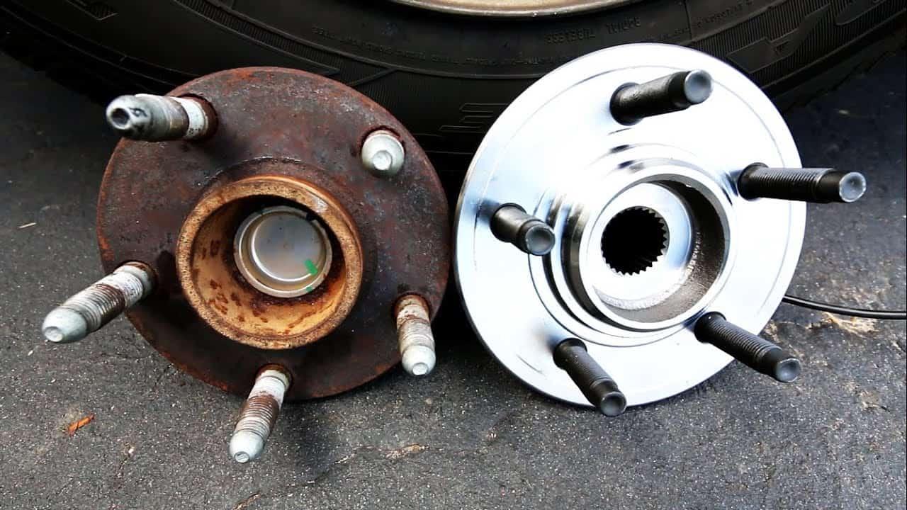 Replacing wheel bearings
