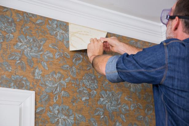 Steps to replaster your RV wallpaper