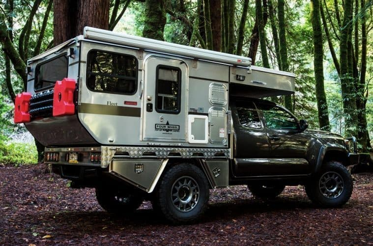 Truck campers are made for short distance journeys
