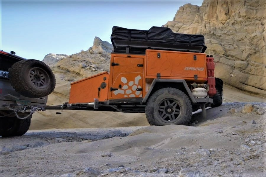 Turtleback Trailers Expedition Off-Road Trailer