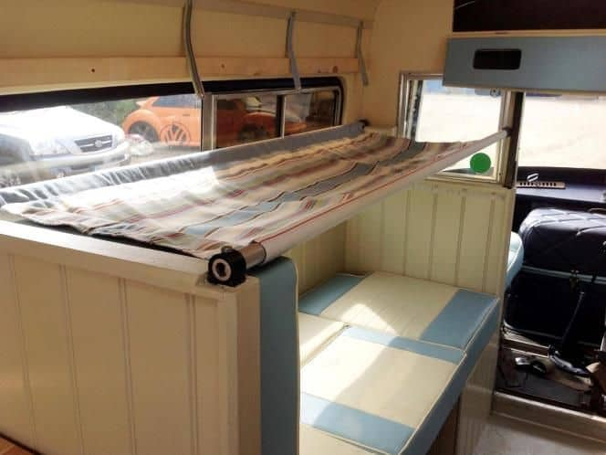 truck camper with bunk beds