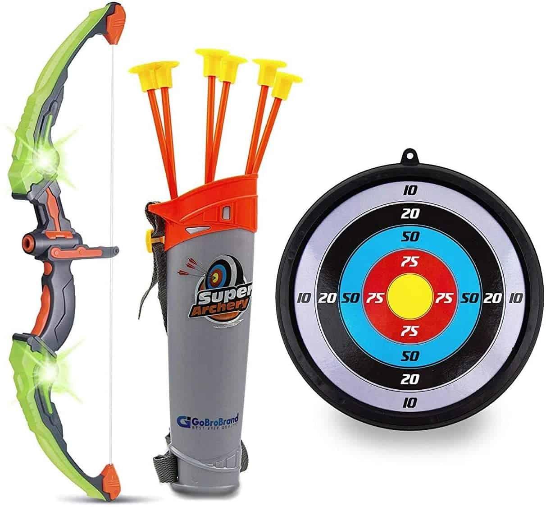 GoBroBrand Bow and Arrow Set for Kids