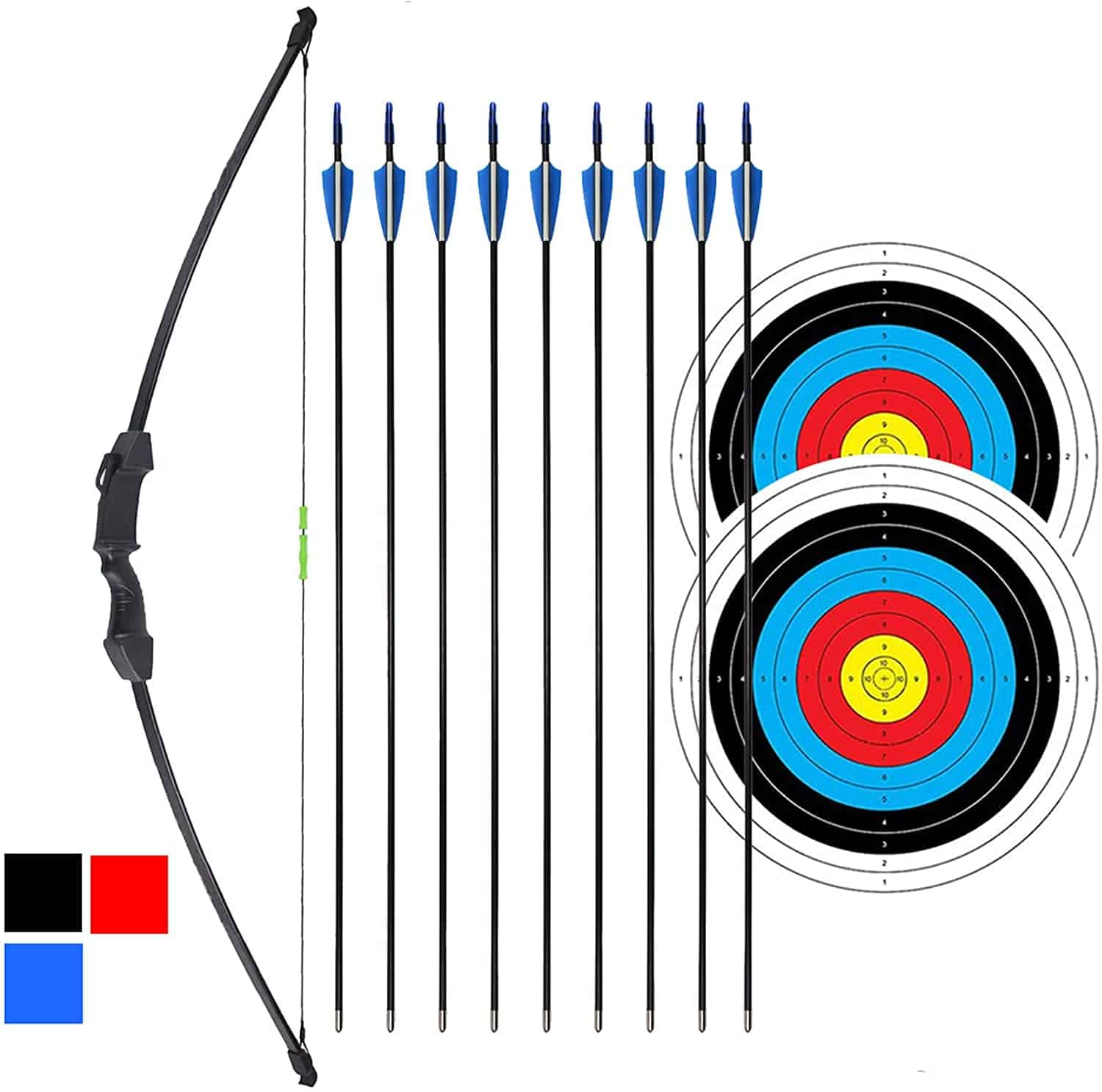 iMay 45 Inch Recurve Bow and Arrow Set