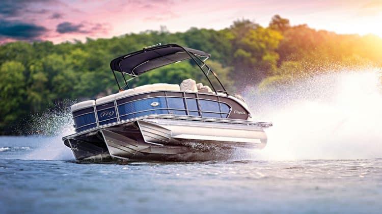 Fast Pontoon Boat