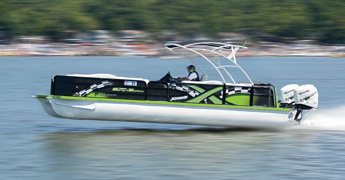 Makes a Pontoon Boat Fast?
