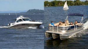 Pontoon Boat or Deck Boat