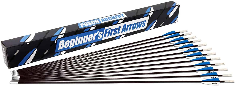 Posch Archery 30 Inch Fiberglass Target Arrows
