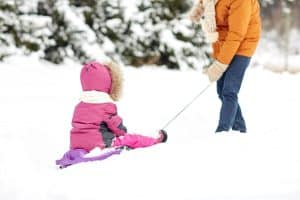 What To Wear If You Don't Have Snow Pants When Sledding