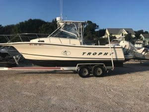 Who Makes Trophy Boats