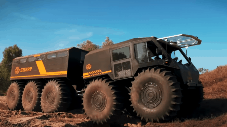 How Much Is A Sherp ATV