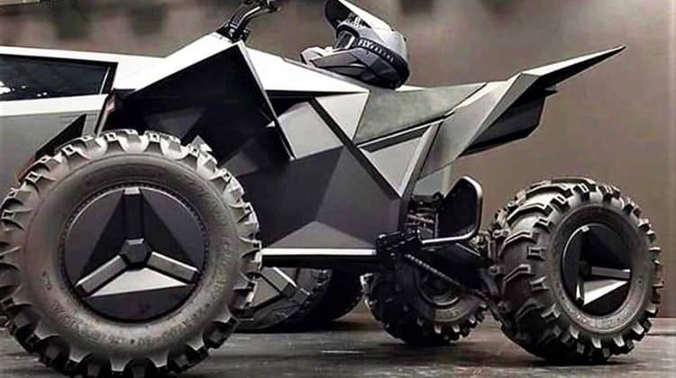 How Much Is The Tesla ATV